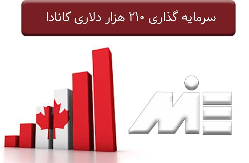 سرمایه گذاری 210 هزار دلاری کانادا