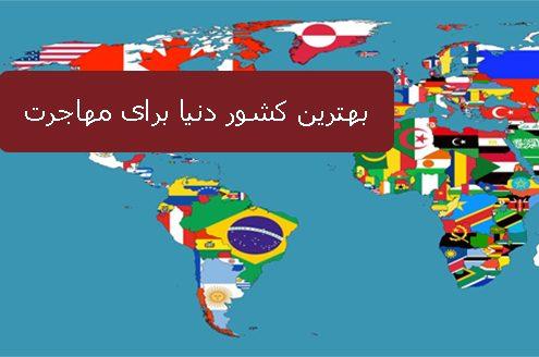 بهترین کشور دنیا برای مهاجرت