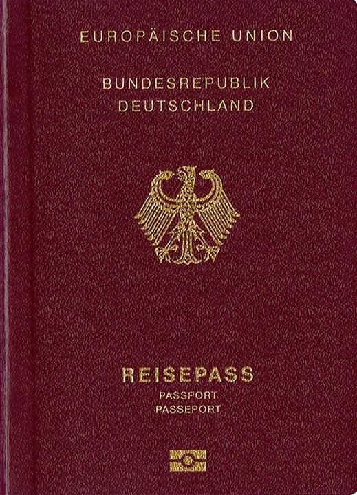 جلد پاسپورت آلمان