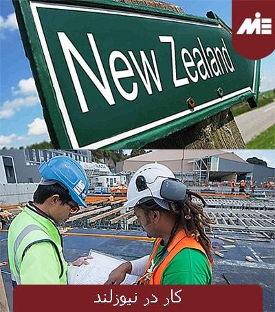 کار در نیوزلند