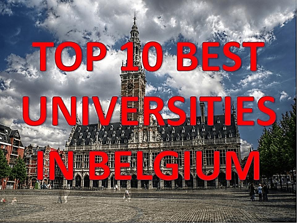 Top 10 Universities in Belgium