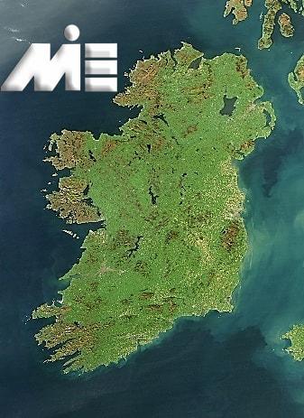 ایرلند روی نقشه