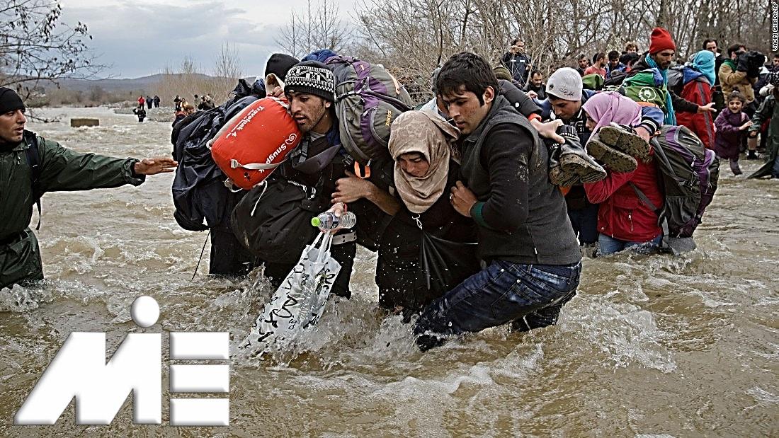 پناهندگی به خارج از کشور ـ مهاجرت به خارج از کشور از طریق پناهندگی