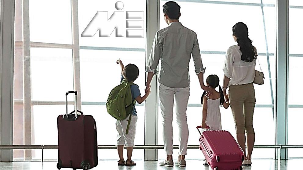 بررسی ویزای همراه در مهاحرت به خارج از کشور