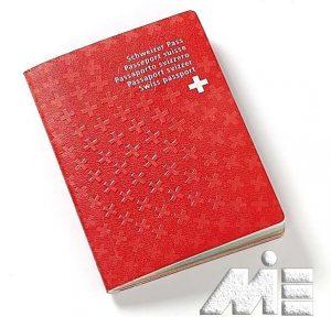 پاسپورت سوئیس ـ تصویر جلد پاسپورت سوئیس
