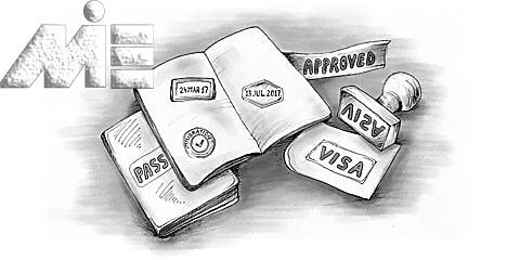 اخذ پاسپورت در مهاجرت به خارج از کشور ـ اخذ ویزا برای مهاجرت به خارج از کشور