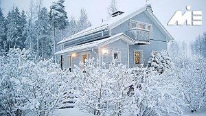 مهاجرت به فنلاند ـ آب و هوای سرد کشور های حوزه اسکاندیناوی