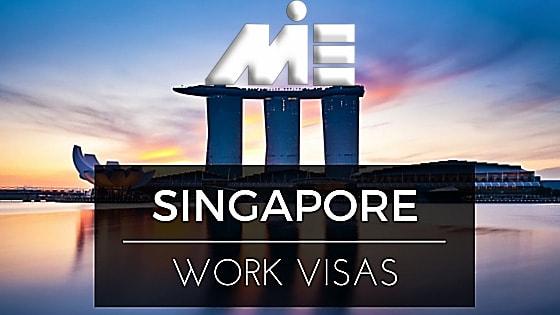 ویزاهای کاری سنگاپور جهت اخذ پاسپورت سنگاپور
