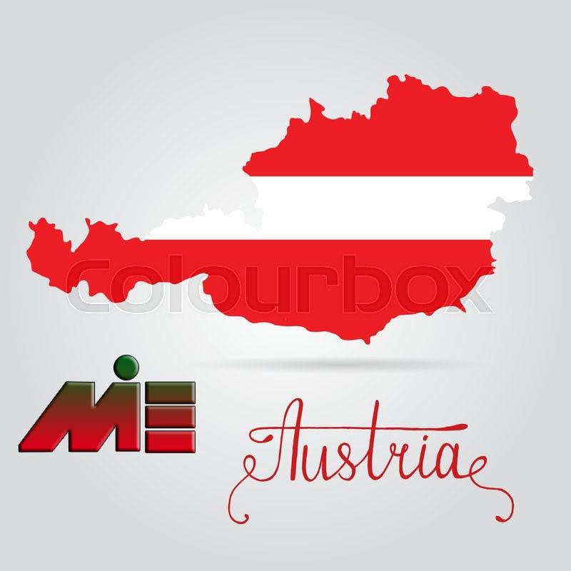 پرچم اتریش دو