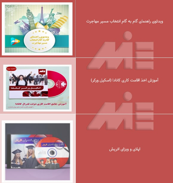 محصولات ویدئویی مهاجرتی موسسه حقوقی ملک پور