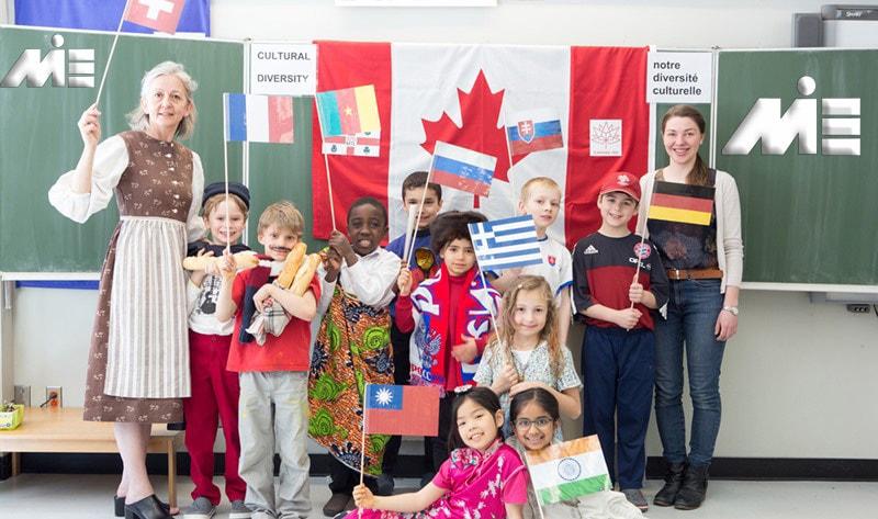 تحصیل دانش آموزان بین المللی در کانادا ـ تحصیل زیر 18 سال در کانادا ـ ویزای تحصیلی برای فرزندان در کانادا