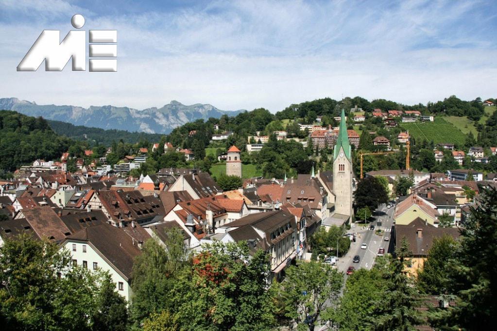 شهر های اتریش و Feldkirch