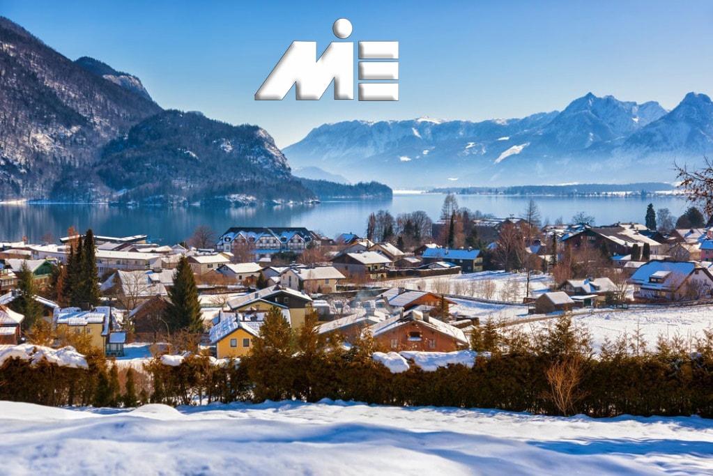شهر های اتریش و Sankt Gilgen ـ Sankt Gilgen