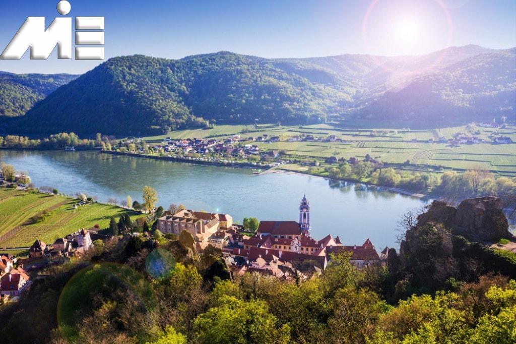 Dournstein کجاست؟ ـ Dournstein زیبا ـ Dournstein اتریش ـ شهر های اتریش