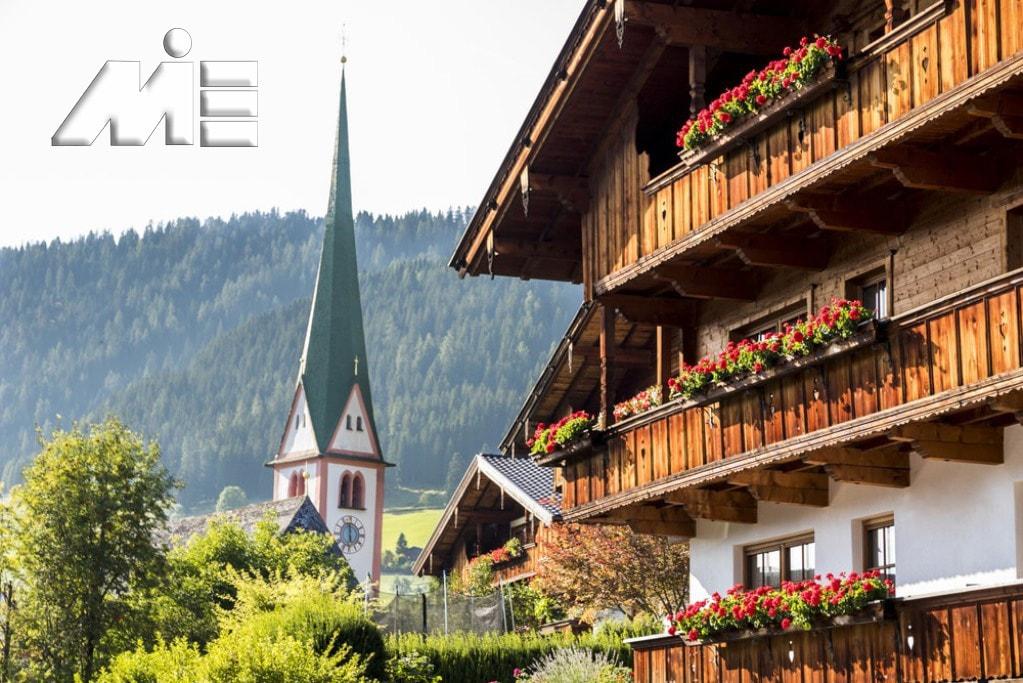 Alpbach کجاست ـ زیبایی های Alpbach ـ شهر های اتریش