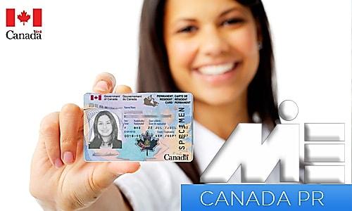 اخذ کارت اقامت دائم کانادا