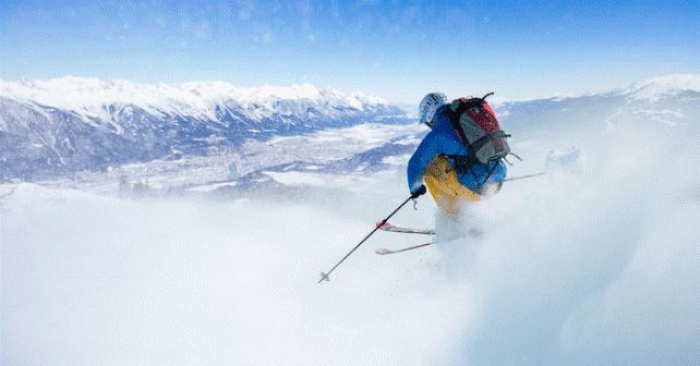 پیست زمستانی اینسبروک در اتریش