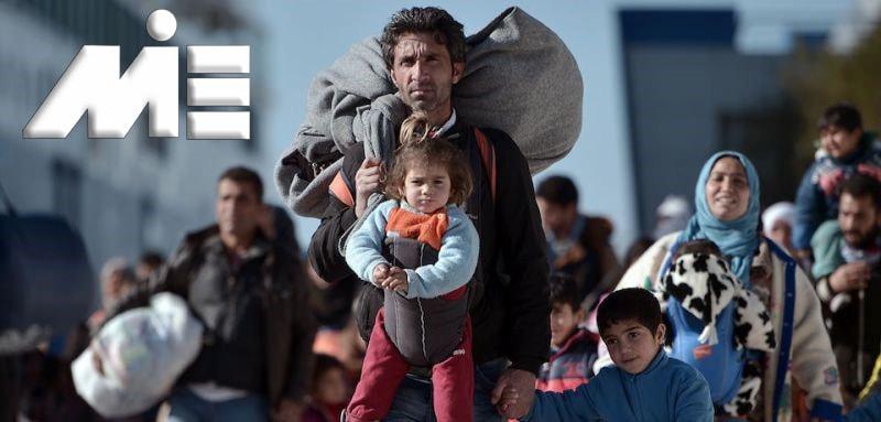 پناهندگی ـ پناهندگی به کشور های خارجی ـ پناهندگی به خارج از کشور