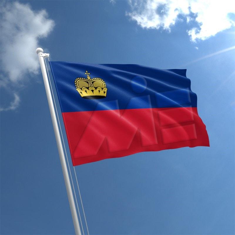 پرچم لیختن اشتاین- مهاجرت به لیختن اشتاین- پاسپورت لیختن اشتاین - ویزای لیختن اشتاین