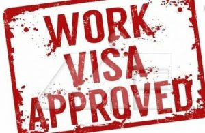 ویزای کار ـ Work Visa Approved