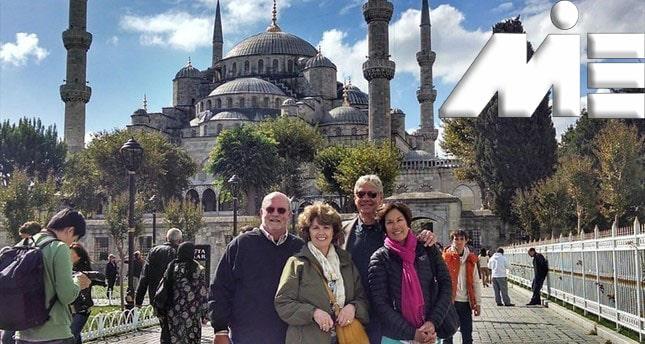 ویزای توریستی ترکیه ـ مسافرت به ترکیه ـ مسجد ایاصوفیه