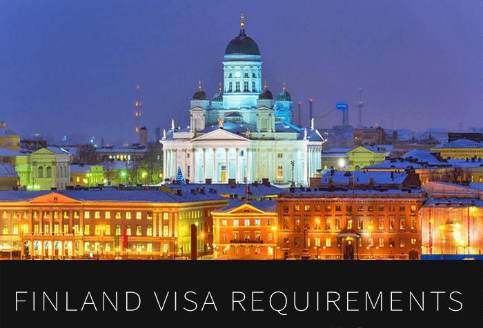 مدارک مورد نیاز اخذ ویزای فنلاند