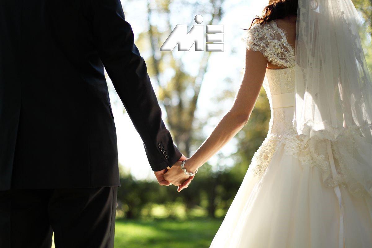 ویزای نامزدی ـ ویزای ازدواج ـ مهاجرت از طریق ازدواج ـ اخذ تابعیت از طریق ازدواج ـ ازدواج با خارجی ـ ازدواج در خارج از کشور