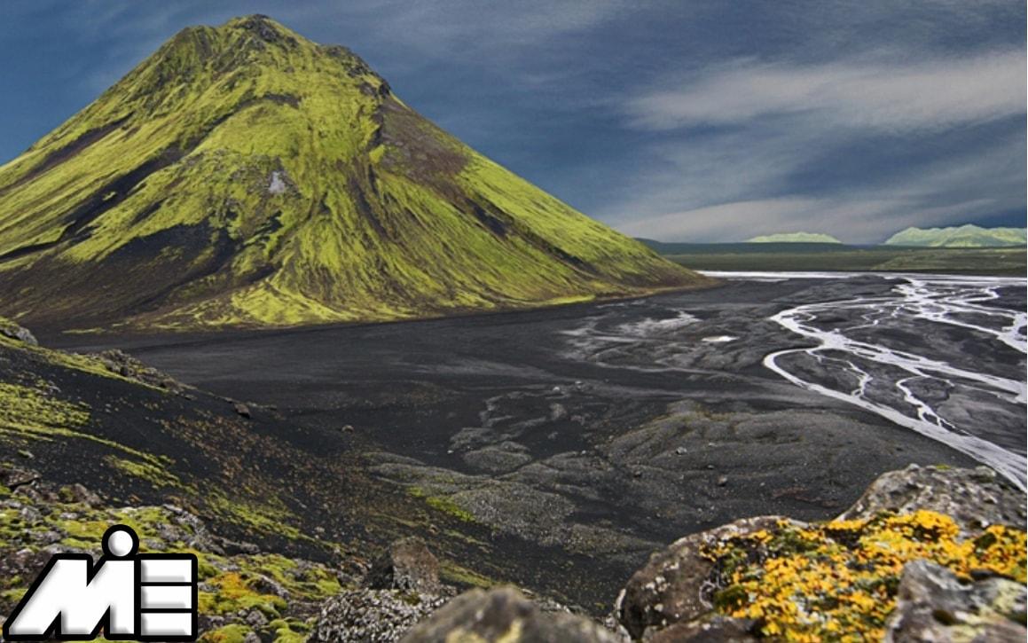 آتشفشان میلیفل و پارک یخچال میردالسجوکول ایسلند ـ جاذبه های توریستی ایسلند ـ ویزای توریستی ایسلند