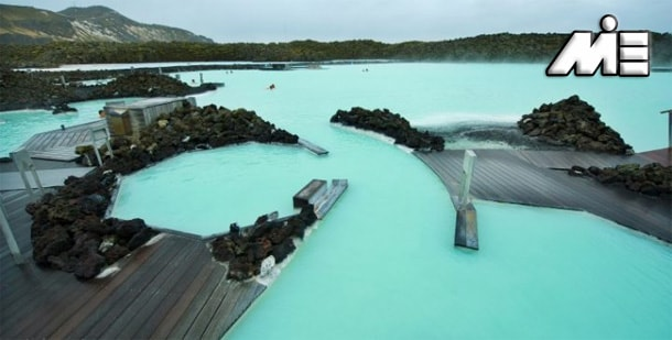 دریاچه آبی گرینداویک ایسلند