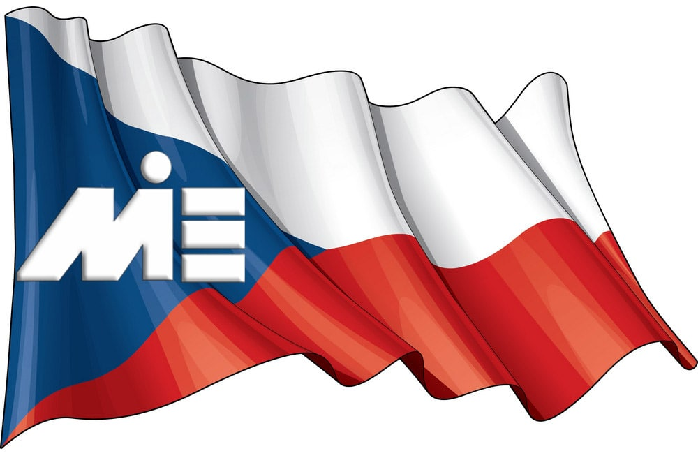پرچم جمهوری چک - ویزای جمهوری چک - پاسپورت جمهوری چک - مهاجرت به جمهوری چک