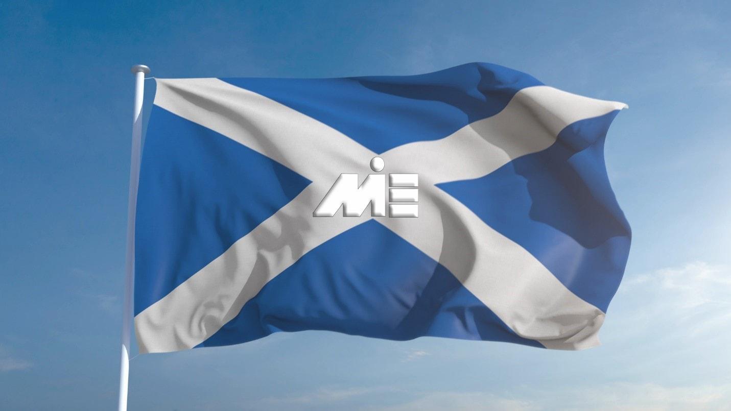 پرچم اسکاتلند ـ مهاجرت به اسکاتلند