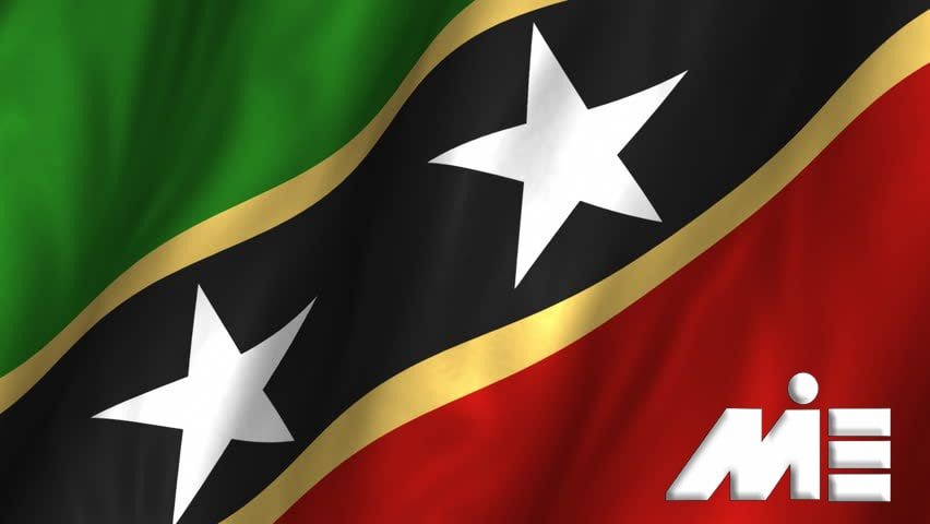 پرچم سنت کیتس ـ مهاجرت به سنت کیتس ـ ویزای سنت کیتس ـ پاسپورت سنت کیتس