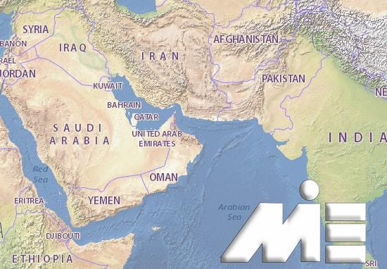 مهاجرت به عمان ـ عمان بر روی نقشه ـ عمان کجاست؟