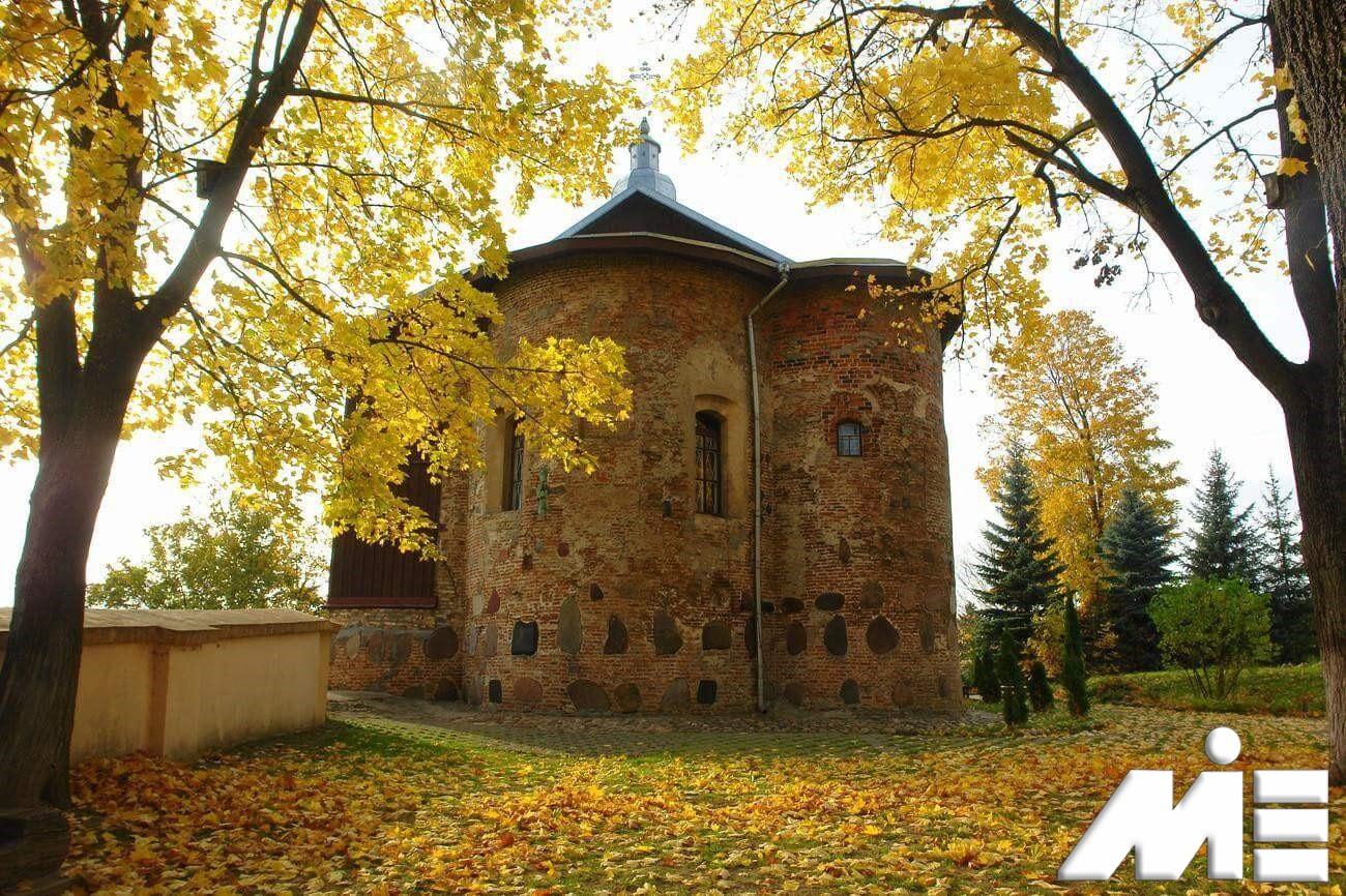 کلیسای کلوزشکا در بلاروس ـ ویزای توریستی بلاروس ـ جاذبه های گردشگری بلاروس