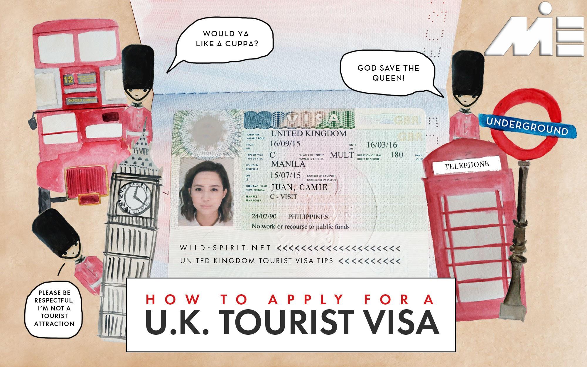 چگونه ویزای توریستی انگلستان بگیریم؟
