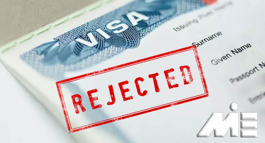 ریجکتی ویزا ـ Rejected Visa