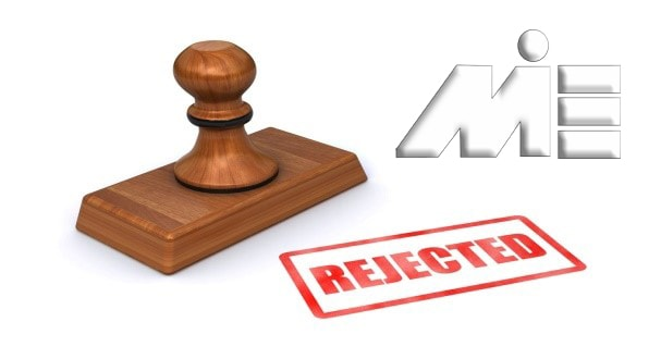 ریجیکتی ویزا ـ Rejected Visa