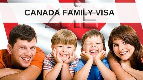 ویزای خانواده برای مهاجرت به کانادا ـ ویزای خانواده کانادا ـ Family Visa