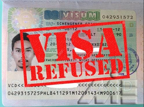 ریجکتی ویزا ـ ریجکت ـ Visa Refused ـ Rejected Visa