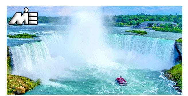 آبشار نیاگارا | جاذبه های گردشگری کانادا | ویزای توریستی کانادا