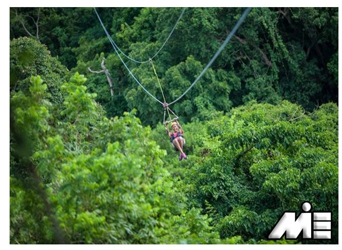 جنگل های گرمسیری سنت کیتس | ویزای توریستی سنت کیتس