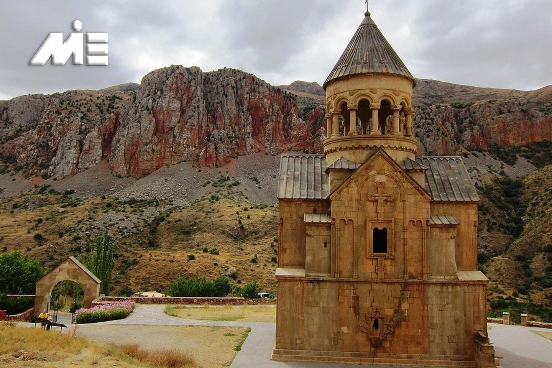 صومعه نوراوانک در ارمنستان | جاذبه های گردشگری ارمنستان | ویزای توریستی ارمنستان
