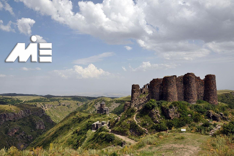 قلعه عنبر در ارمنستان | جاذبه های گردشگری ارمنستان | ویزای توریستی ارمنستان