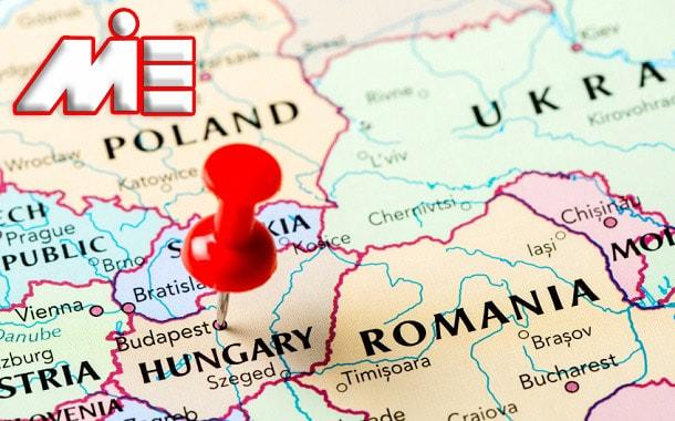 مجارستان بر روی نقشه | مجاستان کجاست؟