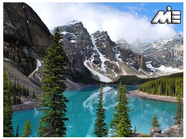 پارک های ملی بنف و کوه های راکی | جاذبه های گردشگری کانادا | ویزای توریستی کانادا