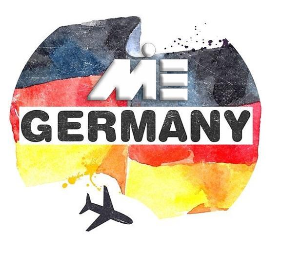 پرچم کشور آلمان - مهاجرت به آلمان - انواع ویزای آلمان