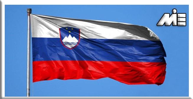 پرچم کشور اسلوونی - مهاجرت به اسلوونی