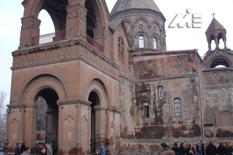 کلیسای جامع اچمیادزین (Echmiadzin Cathedral) در ارمنستان | جاذبه های گردشگری ارمنستان | ویزای توریستی ارمنستان