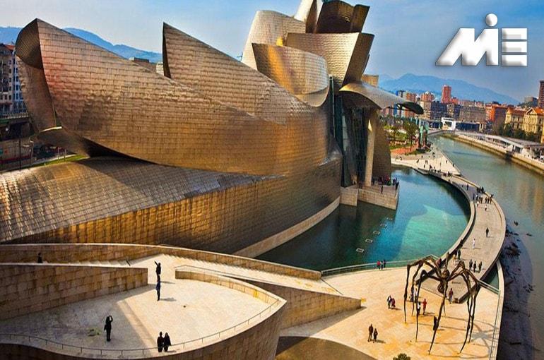 موزه گوگنهایم | جاذبه های گردشگری اسپانیا | ویزای توریستی اسپانیا