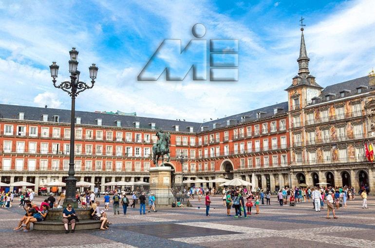 میدان پلازا مایور | جاذبه های گردشگری اسپانیا | ویزای توریستی اسپانیا